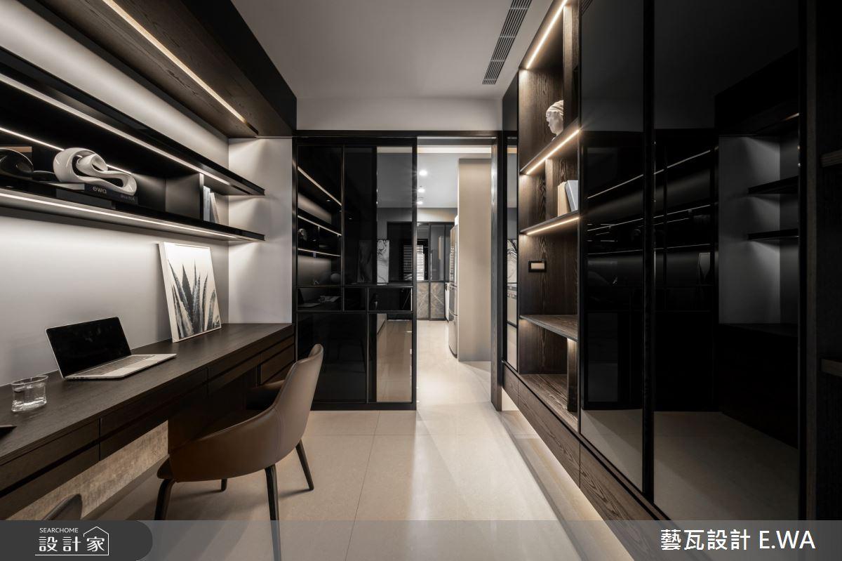 120坪新成屋(5年以下)_現代風書房更衣間案例圖片_藝瓦室內設計_藝瓦_28之9