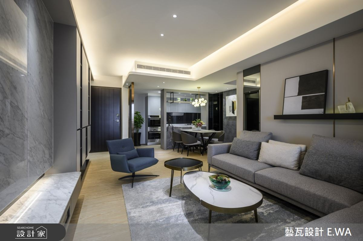 56坪新成屋(5年以下)_現代風案例圖片_藝瓦室內設計_藝瓦_29之3