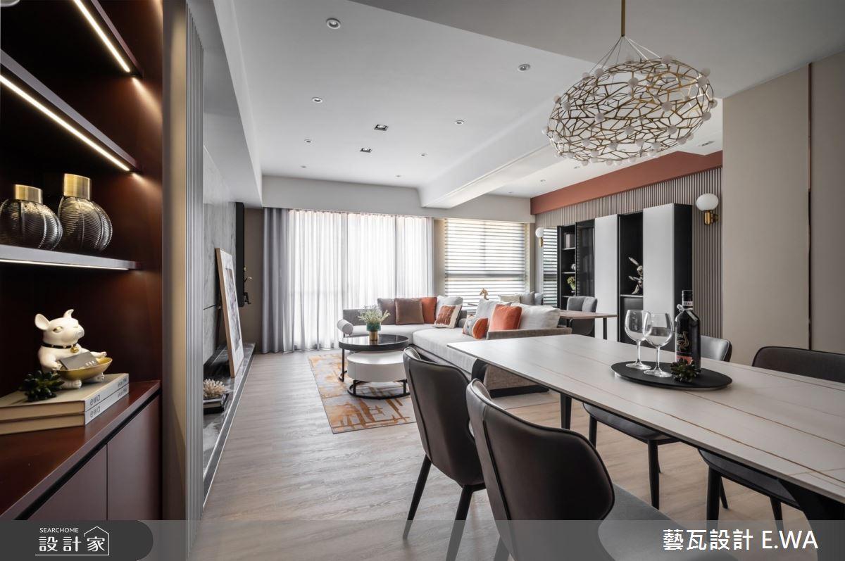 45坪新成屋(5年以下)_法式風案例圖片_藝瓦室內設計_藝瓦_34之4