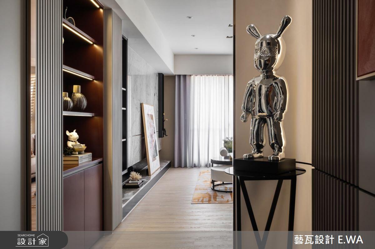 45坪新成屋(5年以下)_法式風案例圖片_藝瓦室內設計_藝瓦_34之2