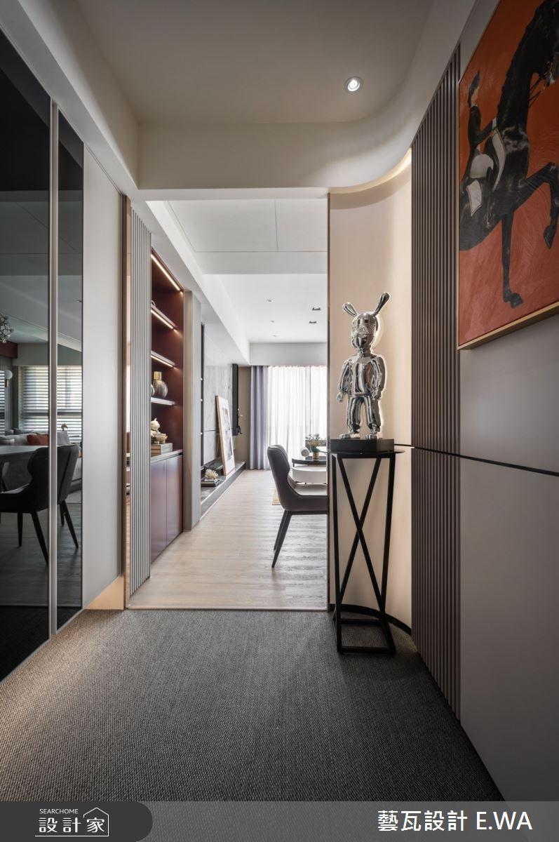 45坪新成屋(5年以下)_法式風玄關案例圖片_藝瓦室內設計_藝瓦_34之4239