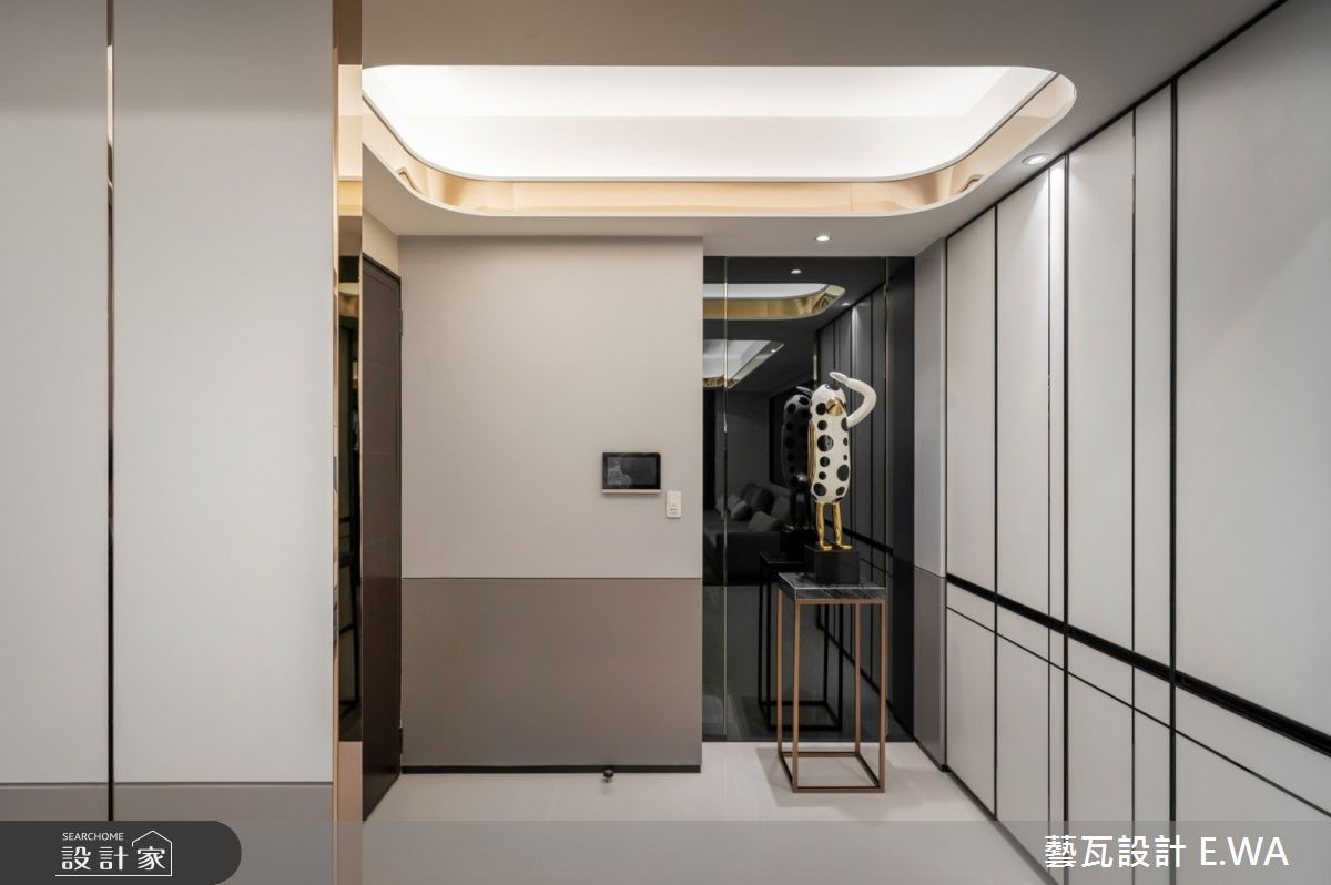93坪新成屋(5年以下)_現代風玄關案例圖片_藝瓦室內設計_藝瓦_35之1