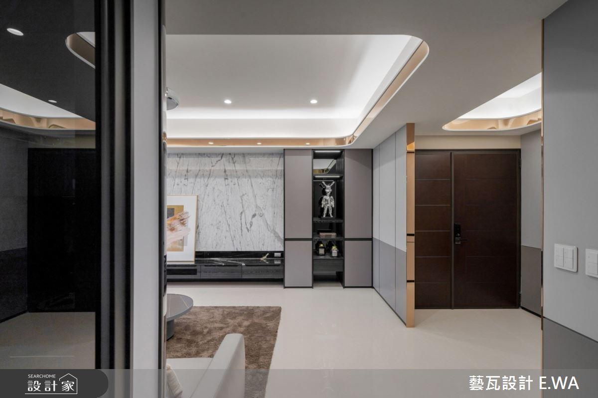 93坪新成屋(5年以下)_現代風玄關客廳案例圖片_藝瓦室內設計_藝瓦_35之4