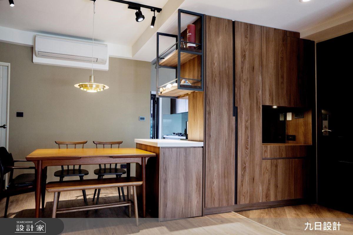 30坪新成屋(5年以下)_休閒風餐廳案例圖片_九日室內裝修設計_九日_02之4