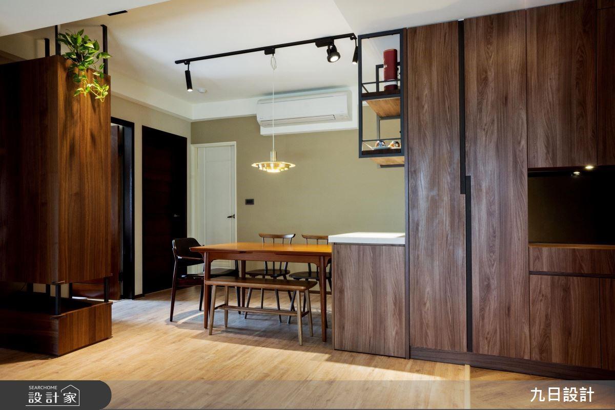 30坪新成屋(5年以下)_休閒風餐廳案例圖片_九日室內裝修設計_九日_02之3
