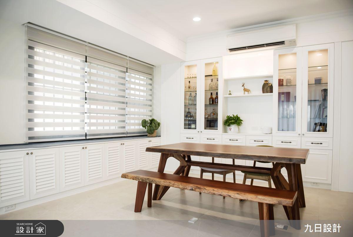 50坪新成屋(5年以下)_美式風餐廳案例圖片_九日室內裝修設計_九日_09之4