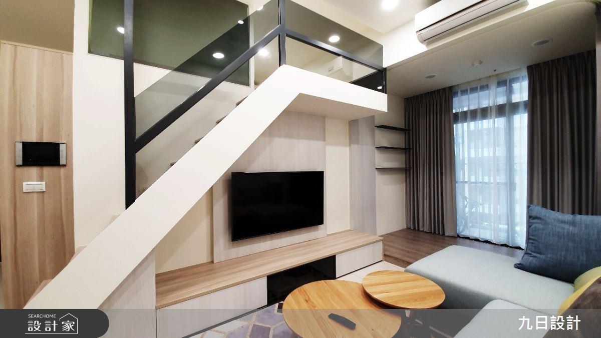 16坪新成屋(5年以下)_北歐風客廳案例圖片_九日室內裝修設計_九日_10之3