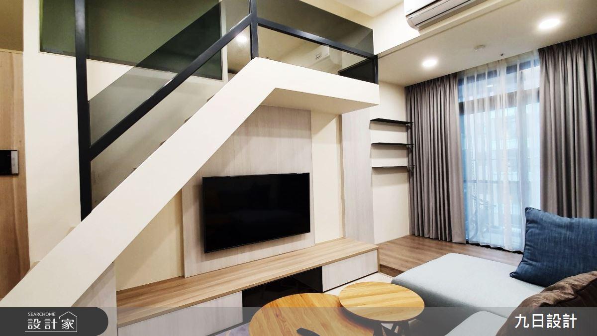 16坪新成屋(5年以下)_北歐風客廳案例圖片_九日室內裝修設計_九日_10之4