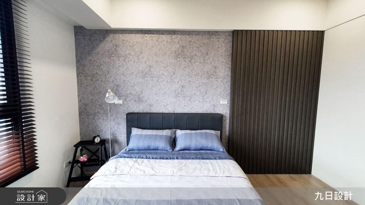 25坪新成屋(5年以下)_混搭風臥室案例圖片_九日室內裝修設計_九日_12之14