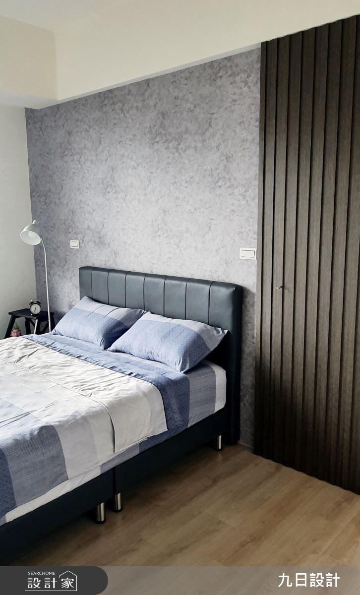 25坪新成屋(5年以下)_混搭風臥室案例圖片_九日室內裝修設計_九日_12之13