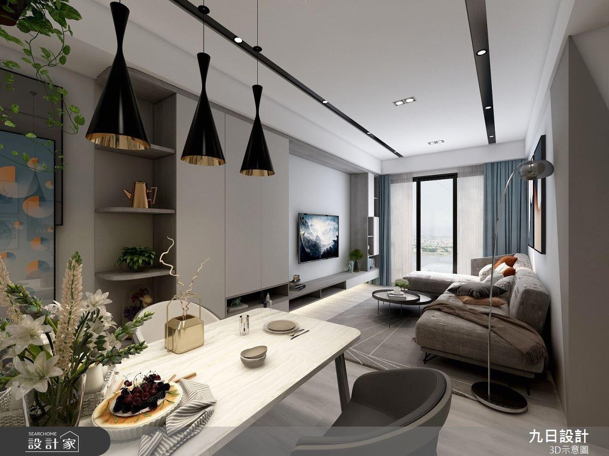 25坪預售屋_現代風餐廳案例圖片_九日室內裝修設計_九日_14之3