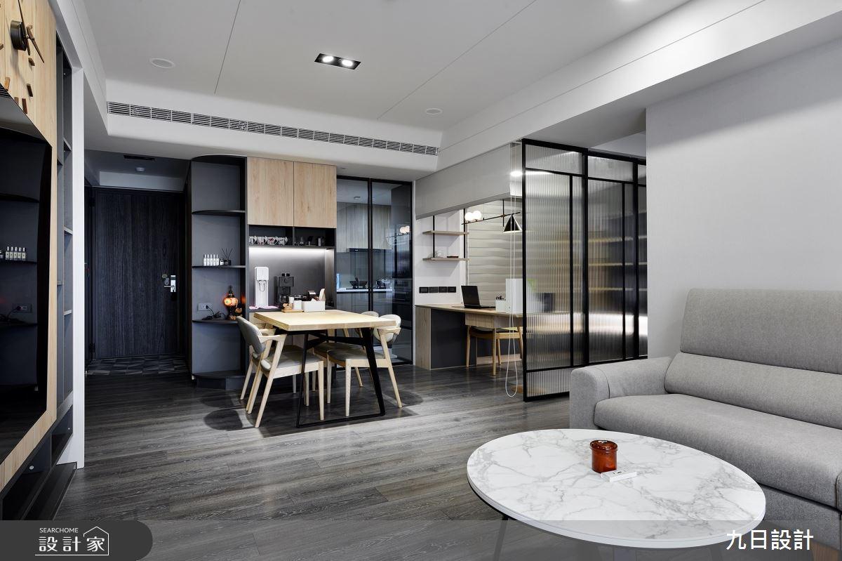 23坪新成屋(5年以下)_混搭風案例圖片_九日室內裝修設計_九日_18之6