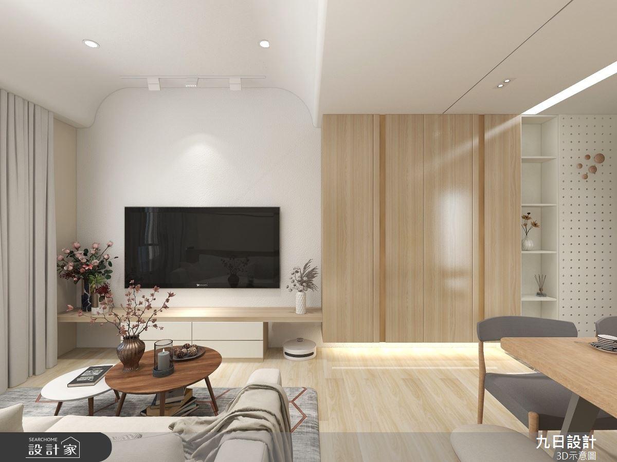 25坪預售屋_北歐風案例圖片_九日室內裝修設計_九日_19之1