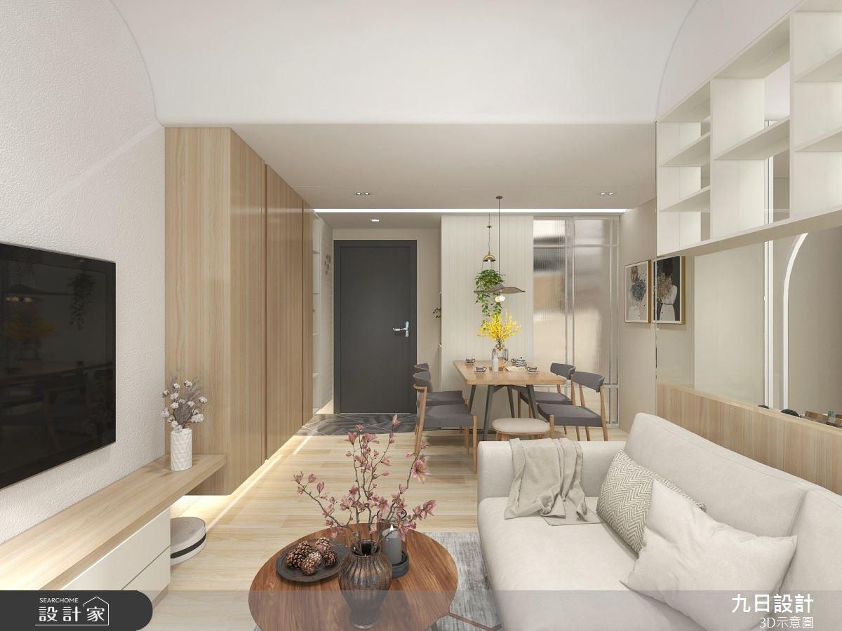 25坪預售屋_北歐風案例圖片_九日室內裝修設計_九日_19之2