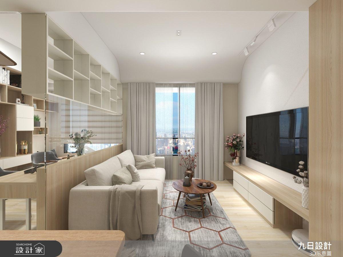 25坪預售屋_北歐風案例圖片_九日室內裝修設計_九日_19之3