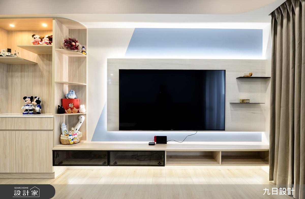 30坪新成屋(5年以下)_混搭風案例圖片_九日室內裝修設計_九日_20之5