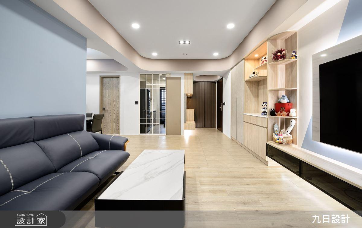 30坪新成屋(5年以下)_混搭風案例圖片_九日室內裝修設計_九日_20之10