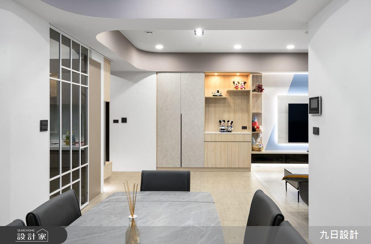 30坪新成屋(5年以下)_混搭風案例圖片_九日室內裝修設計_九日_20之4