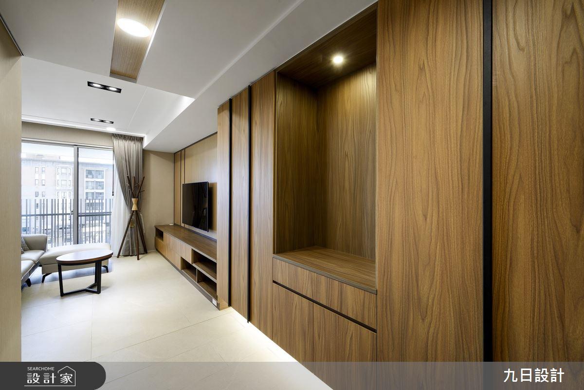 28坪新成屋(5年以下)_日式風案例圖片_九日室內裝修設計_九日_22之2
