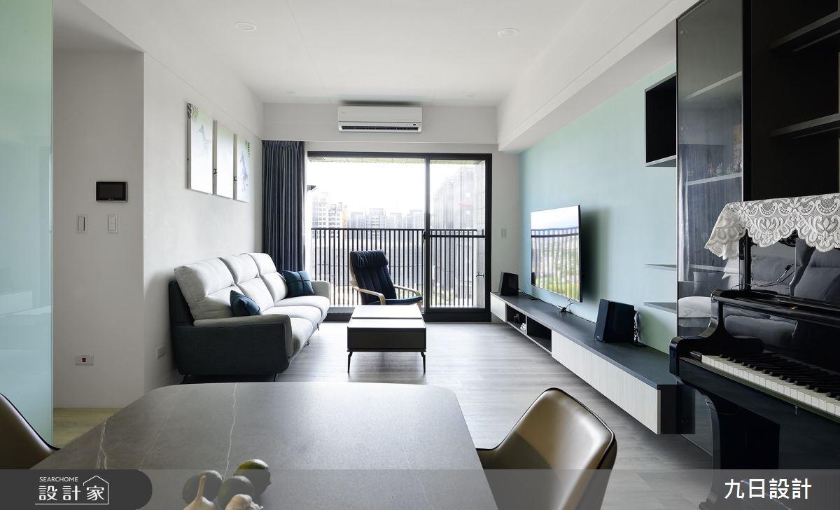 25坪新成屋(5年以下)_混搭風案例圖片_九日室內裝修設計_九日_23之2