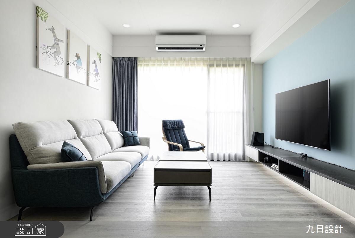 25坪新成屋(5年以下)_混搭風案例圖片_九日室內裝修設計_九日_23之4