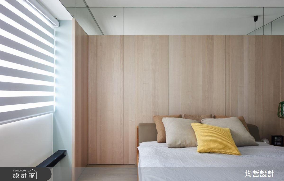 18坪新成屋(5年以下)_簡約風臥室案例圖片_均哲室內裝修設計有限公司_均哲_03之12
