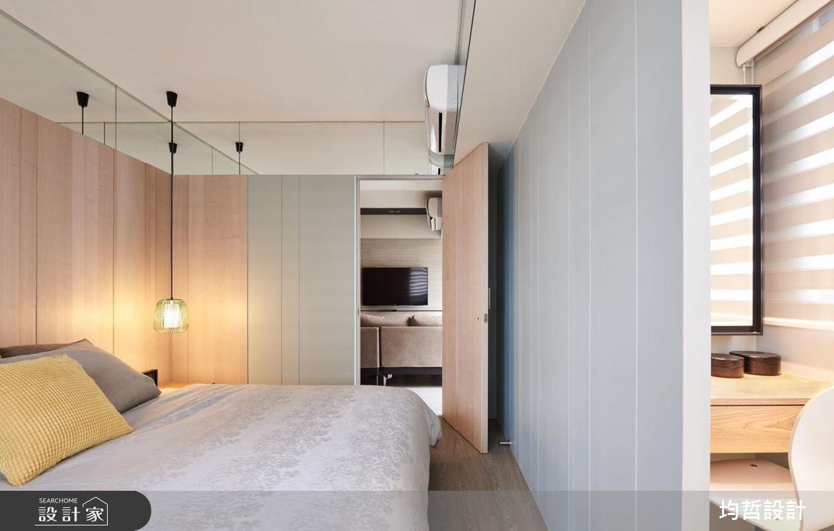 18坪新成屋(5年以下)_簡約風臥室案例圖片_均哲室內裝修設計有限公司_均哲_03之11
