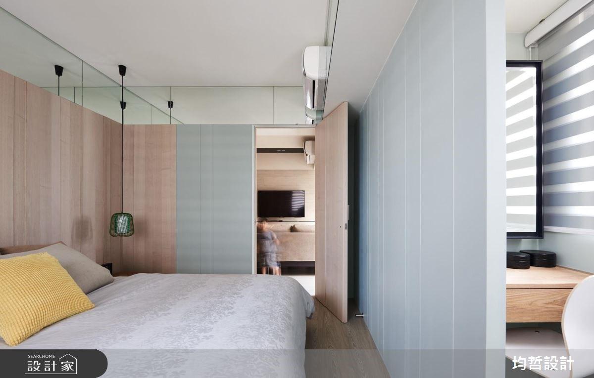 18坪新成屋(5年以下)_簡約風臥室案例圖片_均哲室內裝修設計有限公司_均哲_03之10