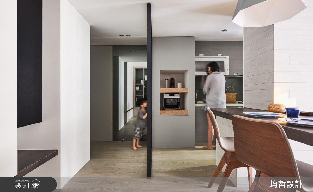 18坪新成屋(5年以下)_簡約風餐廳案例圖片_均哲室內裝修設計有限公司_均哲_03之8