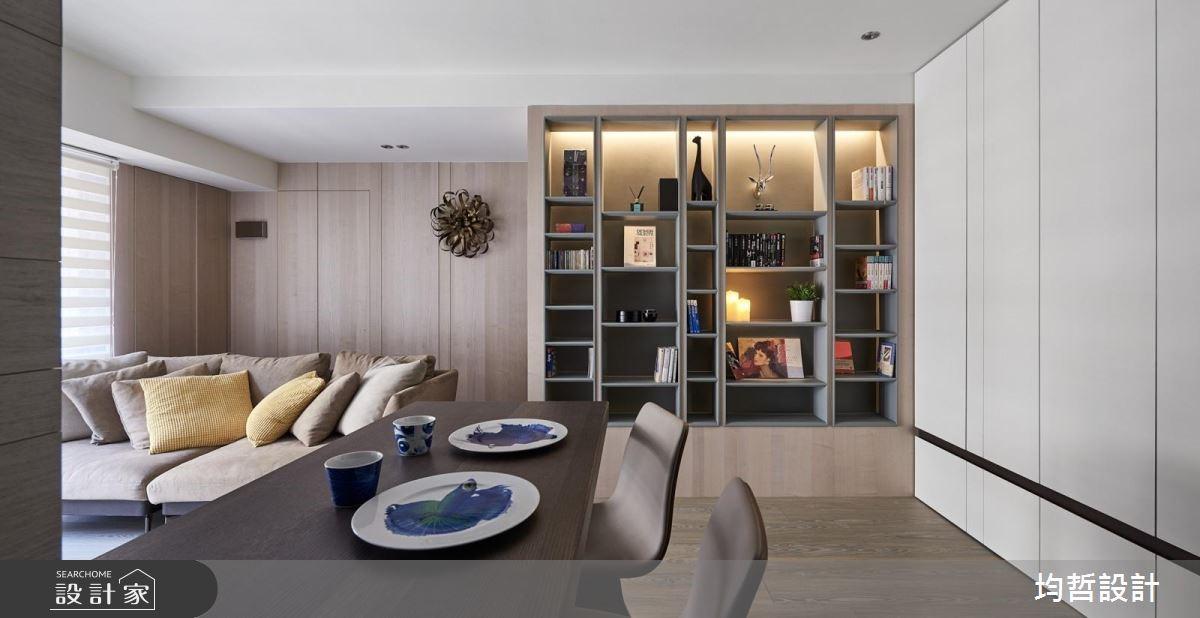 18坪新成屋(5年以下)_簡約風餐廳案例圖片_均哲室內裝修設計有限公司_均哲_03之3