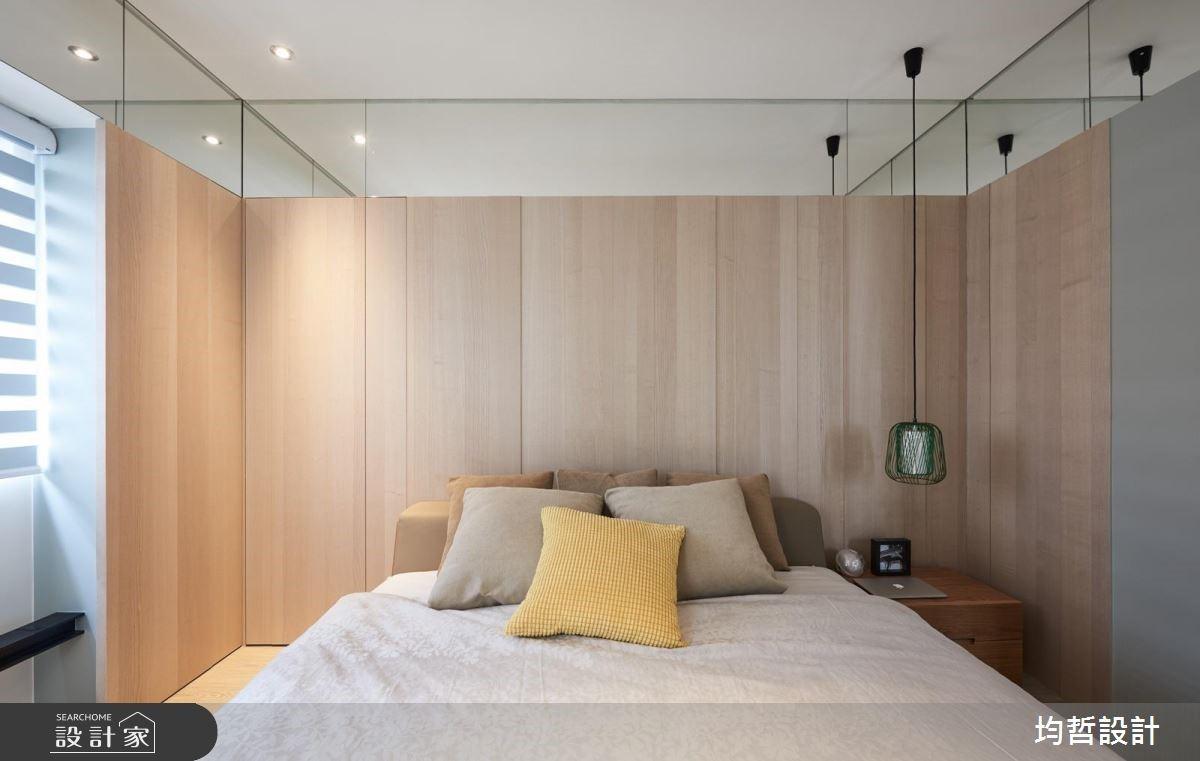 18坪新成屋(5年以下)_簡約風臥室案例圖片_均哲室內裝修設計有限公司_均哲_03之13