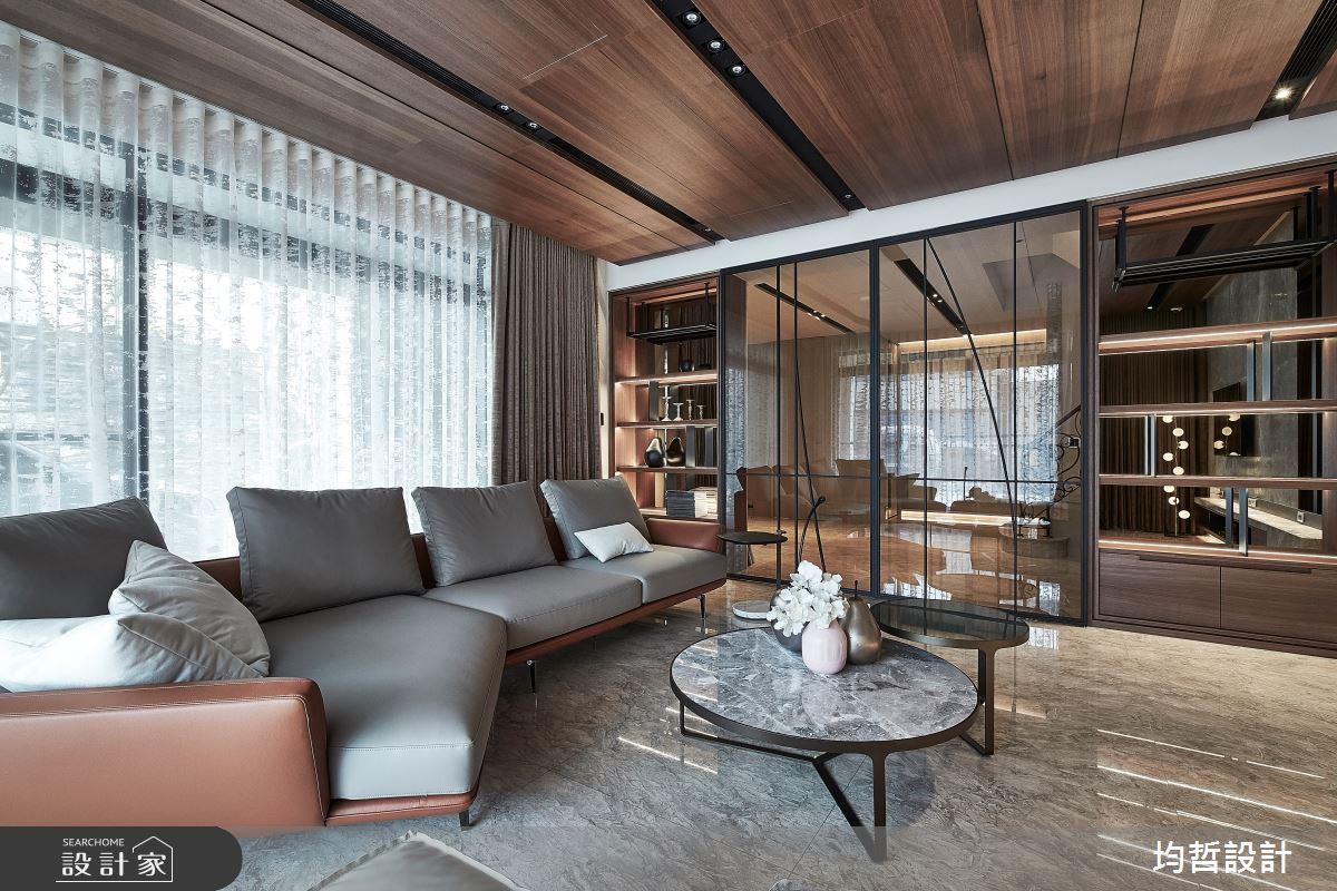 150坪新成屋(5年以下)_混搭風案例圖片_均哲室內裝修設計有限公司_均哲_13之4