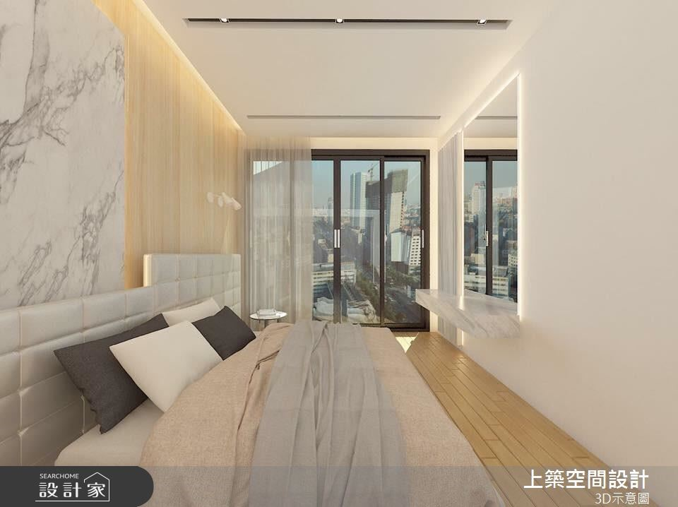 28坪新成屋(5年以下)_混搭風臥室案例圖片_上築空間設計_上築_01之4