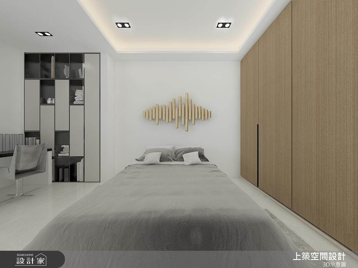 60坪老屋(16~30年)_現代風臥室客房案例圖片_上築空間設計_上築_03之5