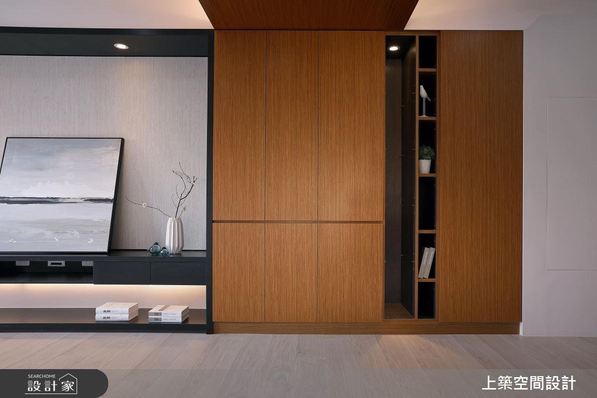 26坪新成屋(5年以下)_現代風客廳案例圖片_上築空間設計_上築_05之4