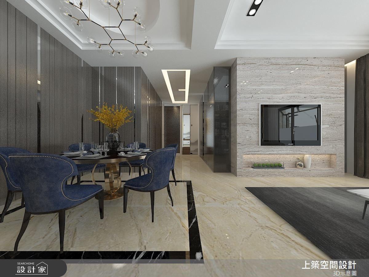 60坪新成屋(5年以下)_混搭風餐廳案例圖片_上築空間設計_上築_09之3