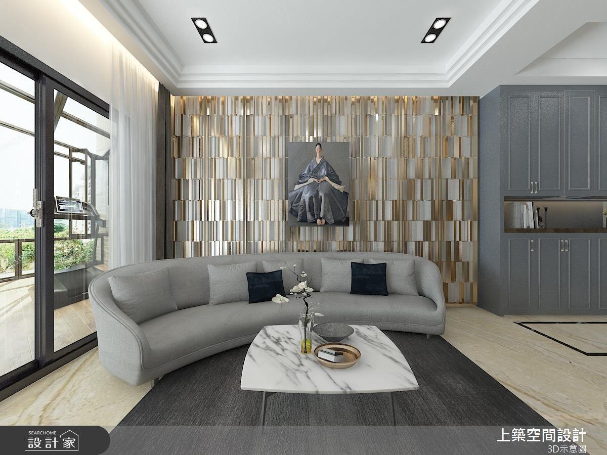 60坪新成屋(5年以下)_混搭風客廳案例圖片_上築空間設計_上築_09之6