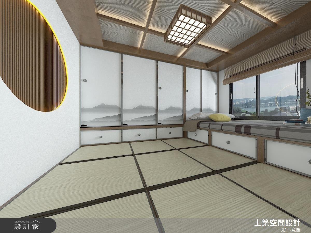60坪新成屋(5年以下)_混搭風和室案例圖片_上築空間設計_上築_09之14