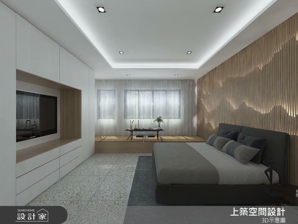 40坪新成屋(5年以下)_現代風臥室客房案例圖片_上築空間設計_上築_12之4