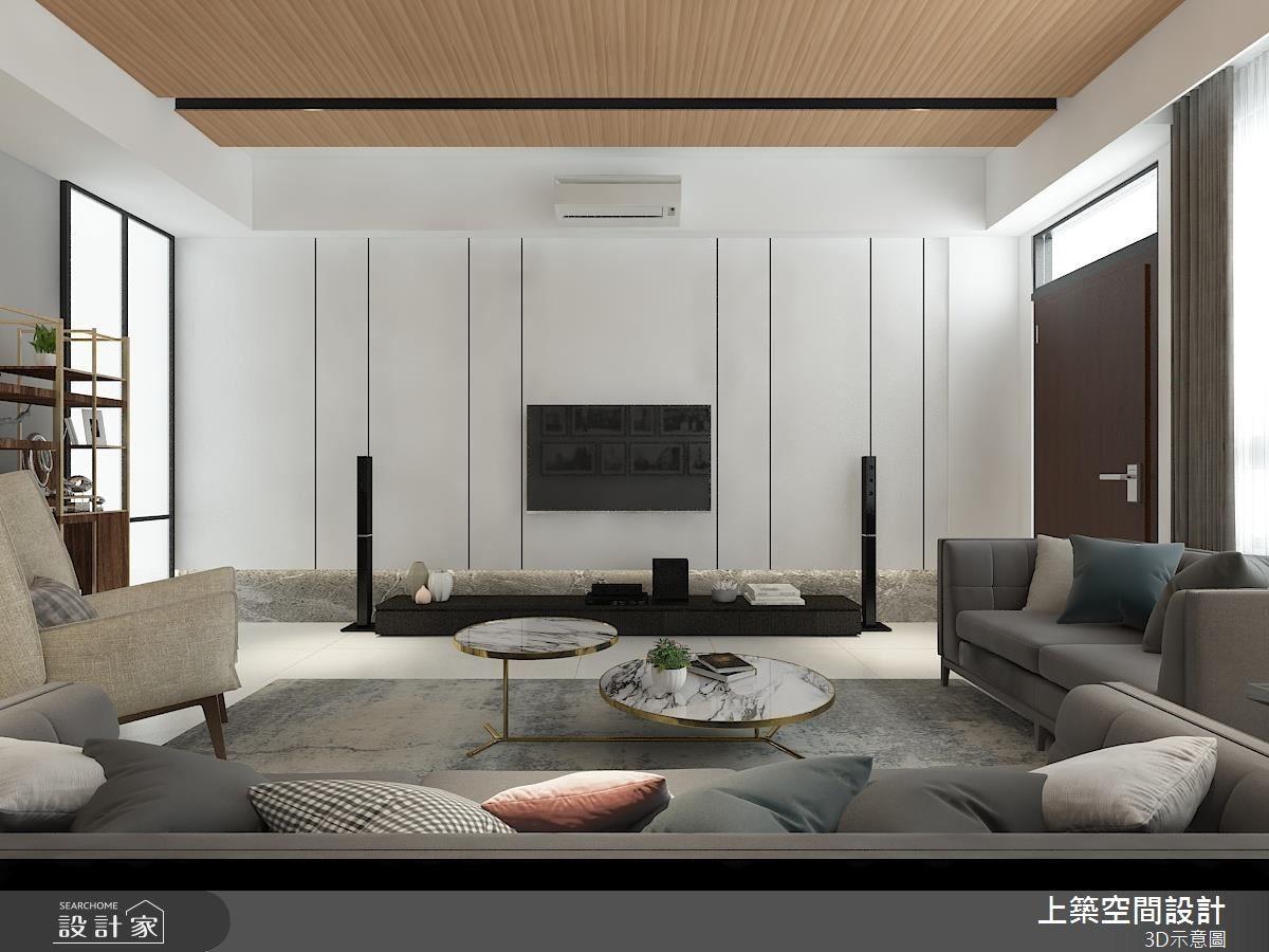 45坪中古屋(5~15年)_混搭風客廳案例圖片_上築空間設計_上築_16之1