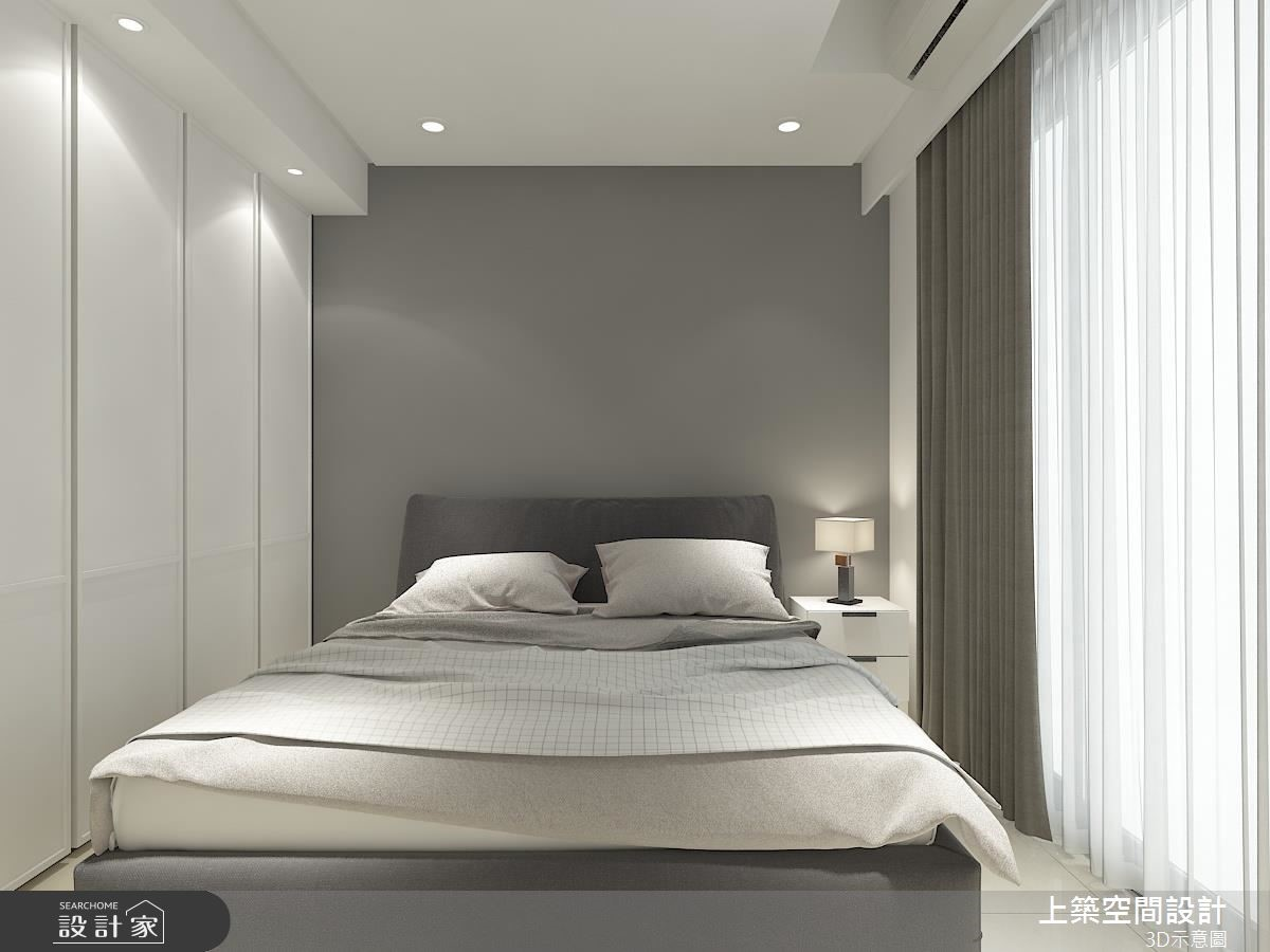 25坪中古屋(5~15年)_混搭風臥室客房案例圖片_上築空間設計_上築_18之8