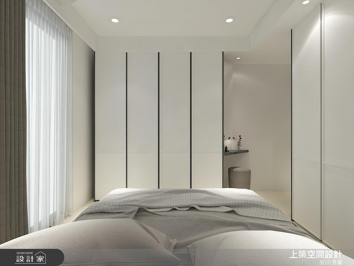25坪中古屋(5~15年)_混搭風臥室客房案例圖片_上築空間設計_上築_18之9