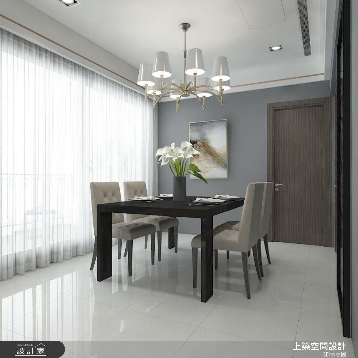 25坪預售屋_現代風餐廳案例圖片_上築空間設計_上築_22之4