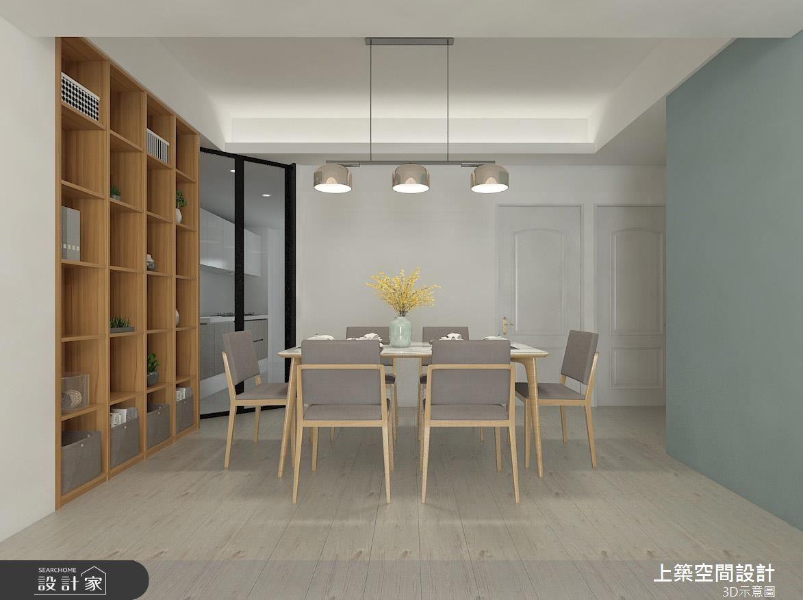 22坪老屋(16~30年)_北歐風餐廳案例圖片_上築空間設計_上築_23之4