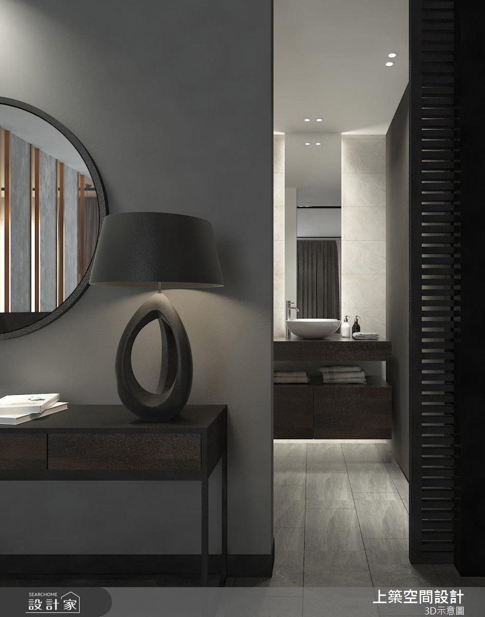 35坪_現代風浴室案例圖片_上築空間設計_上築_25之9