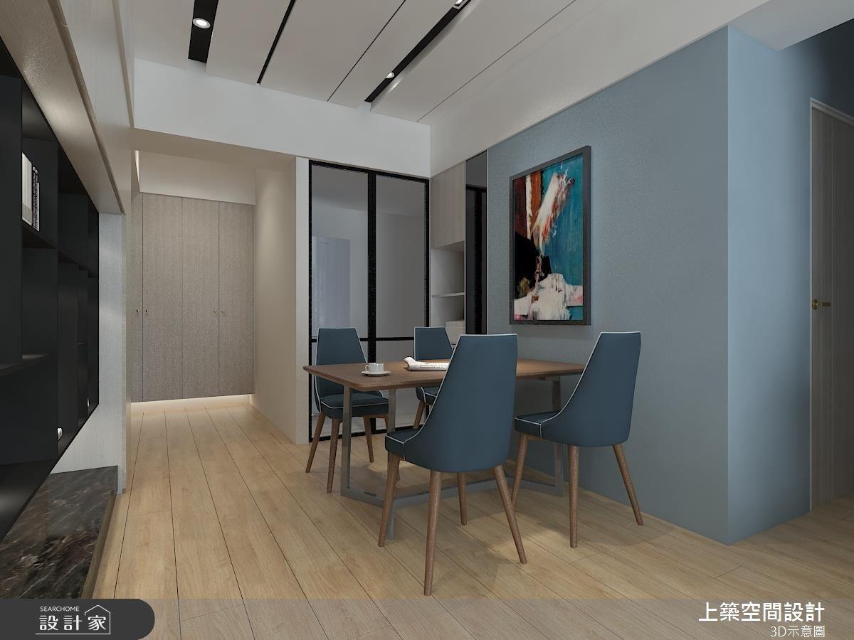 25坪_北歐風餐廳案例圖片_上築空間設計_上築_26之4