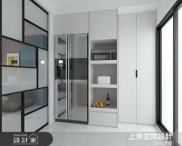 25坪_北歐風廚房案例圖片_上築空間設計_上築_28之4