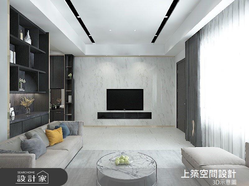 80坪預售屋_現代風案例圖片_上築空間設計_上築_29之2