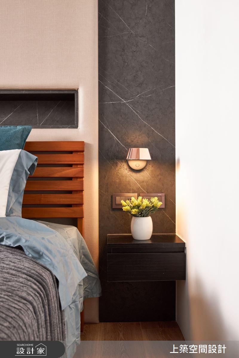 28坪新成屋(5年以下)_北歐風臥室案例圖片_上築空間設計_上築_35之14