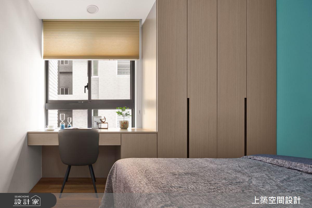 28坪新成屋(5年以下)_北歐風臥室案例圖片_上築空間設計_上築_35之25